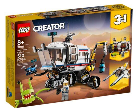 Lego Creator 3 en 1 Explorador de Space Rover 3