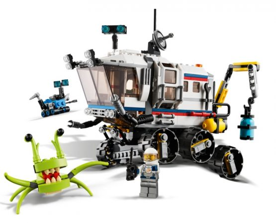 Lego Creator 3 en 1 Explorador de Space Rover 1