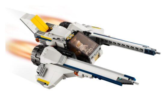 Lego Creator 3 en 1 Explorador de Space Rover 7