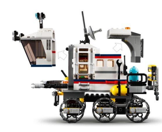 Lego Creator 3 en 1 Explorador de Space Rover 4