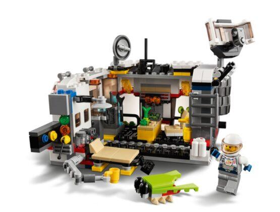 Lego Creator 3 en 1 Explorador de Space Rover 8