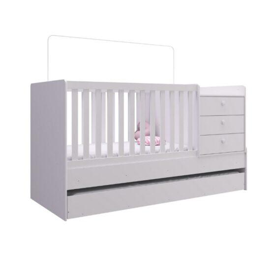 Cuna Cama Unsi Furniture Multifuncion Con Cama Aux 1