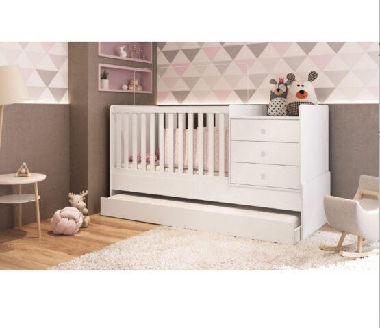 Cuna Cama Unsi Furniture Multifuncion Con Cama Aux 3