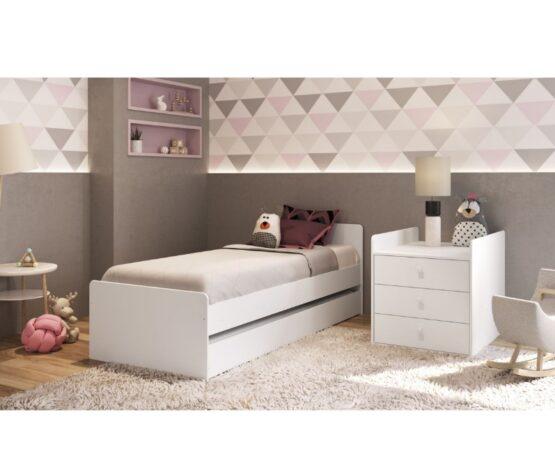 Cuna Cama Unsi Furniture Multifuncion Con Cama Aux 4