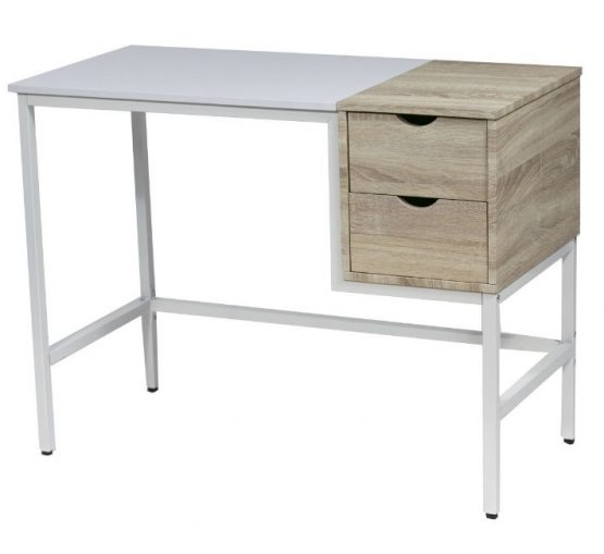 Escritorio Unsi Furniture 2 Cajones con detalles en Madera 3