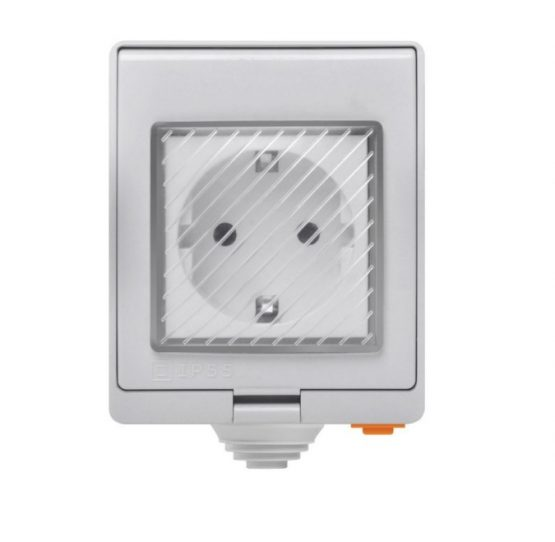 Enchufe Inteligente Sonoff Para Exterior S55 Ip Wifi 220vac 10a 1