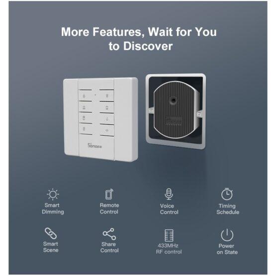Interruptor de Atenuacion Inteligente Sonoff D1 4