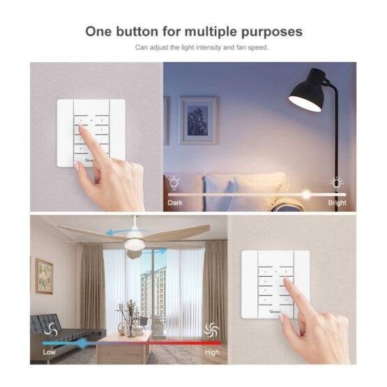 Interruptor de Atenuacion Inteligente Sonoff D1 5