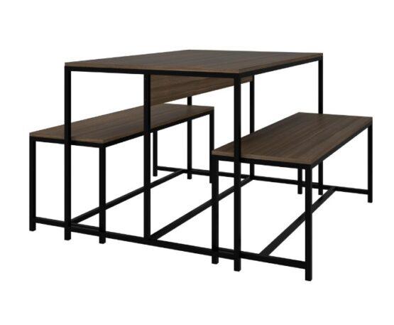 Juego de comedor Unsi Furniture Rustic 1