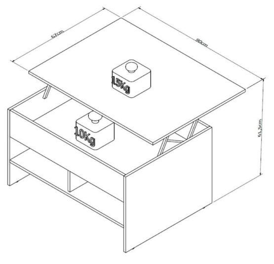 Mesa Unsi Furniture Ratona Articulada 4