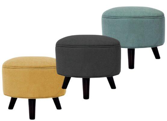 Puff Flam Unsi Furniture 50x43 cm 1