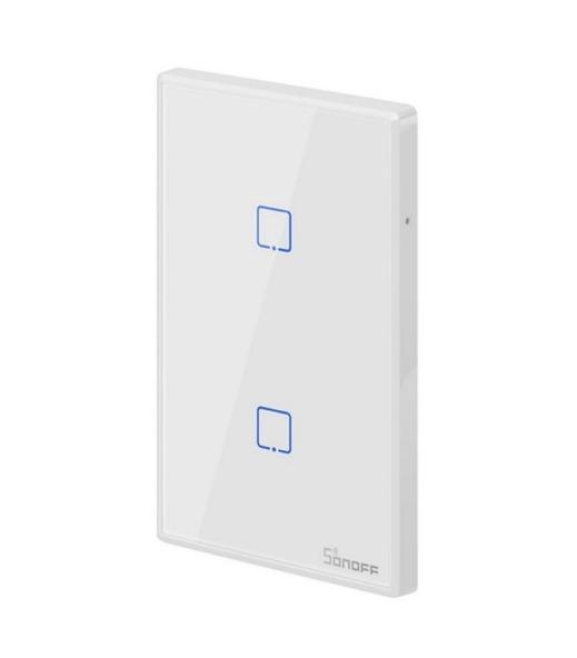 Interruptor de Pared Sonoff 2 Botones Wifi + Rf 1