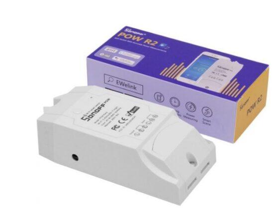 Interruptor Inteligente Wifi Sonoff Pow R2 1