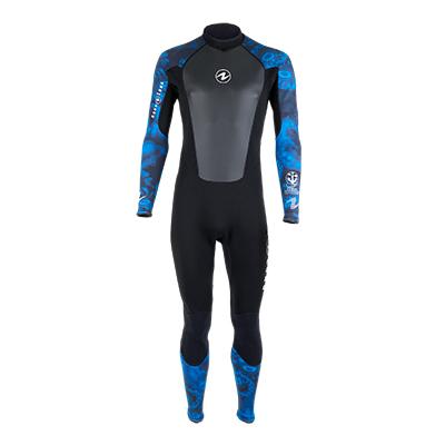 Traje de Compresion Aqua Lung para Hombre Hydroflex 1