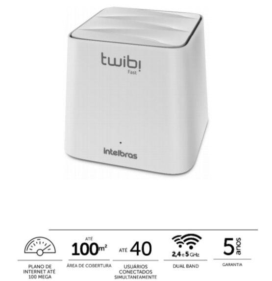 Enrutador Intelbras Wi-Fi Mesh 5 (AC 1200) 1