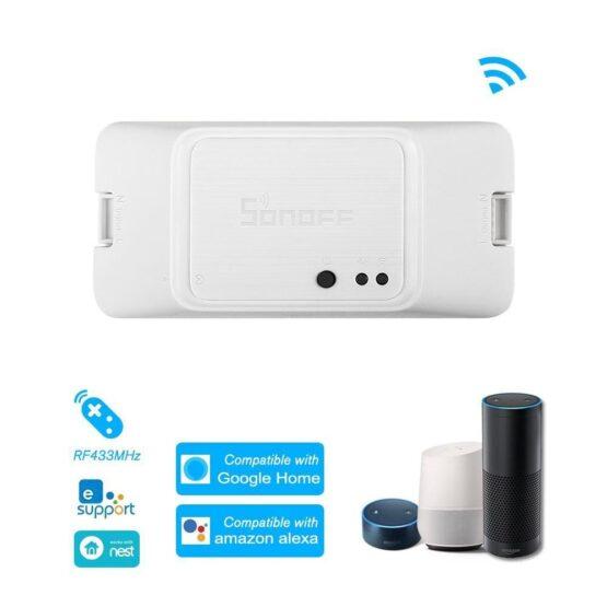 Interruptor inteligente Sonoff con WiFi RFR3 3