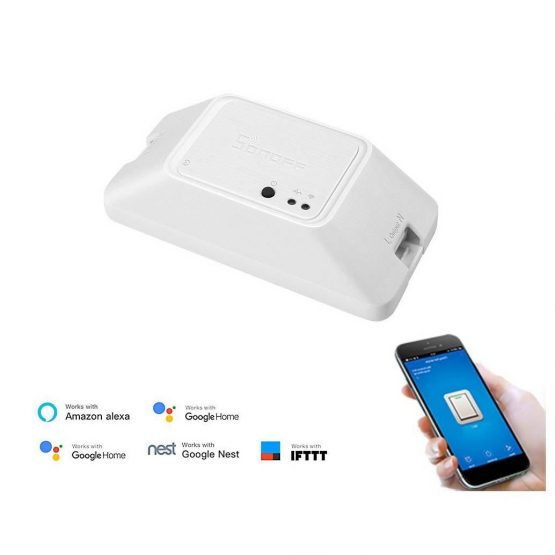 Interruptor inteligente Sonoff con WiFi RFR3 2
