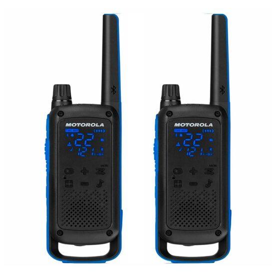 2 Radios Walkie Talkie Motorola Handy 2 Vias T800 1