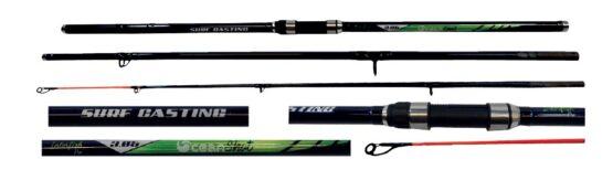 Caña Interfish Pro Oceanshot Lance Carbon 3,9M 3TR 20-40LBS 1