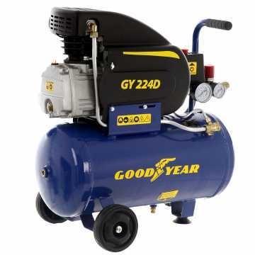Compresor Electrico Goodyear 2HP 24 Litros 1