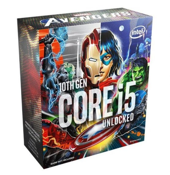Cpu Intel Core I5 10600ka Avengers S1200 S/fan 10m 1