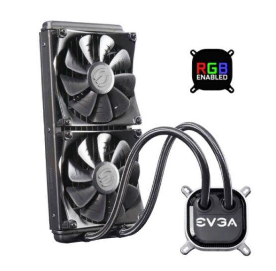 Disipador Evga Clc 280 Liquid RGB LED 1