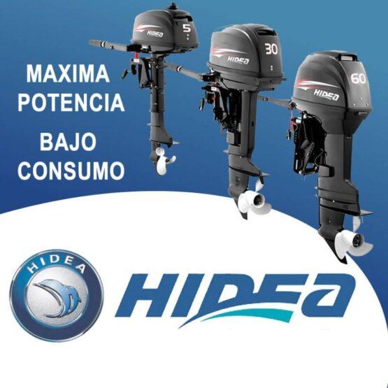Motor Fuera de Borda Hidea 25HP/ 2T/ Pata Corta 496cc 5
