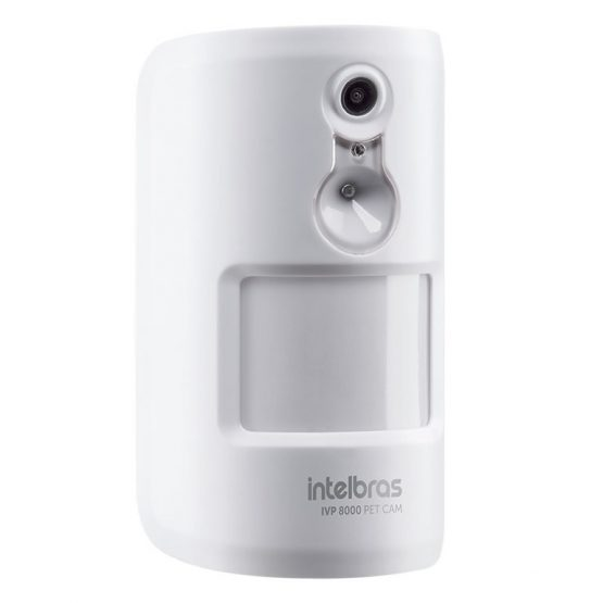 Sensor de Movimiento Infrarrojo Pasivo con Camara Intelbras PIR IVP 8000 1
