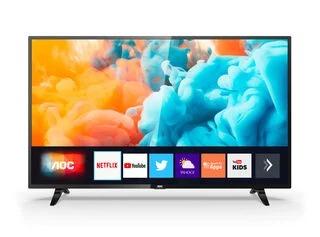 """Televisor AOCSmart TV 4K Ultra HD de 50"""" 1"""