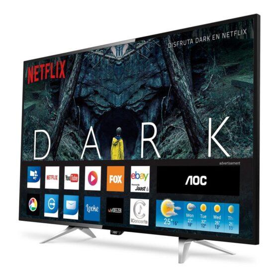 "Televisor Smart Tv AOC Led Backlit Lcd 55"" 4K 1"