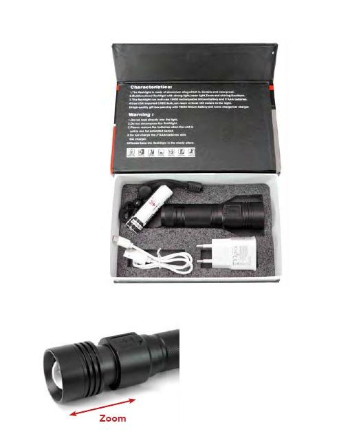 Linterna de mano 15W - 800 lm.- LED P50 3