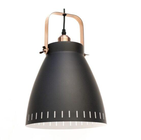 Luminaria De Techo Foco Negra D26.5cm 1