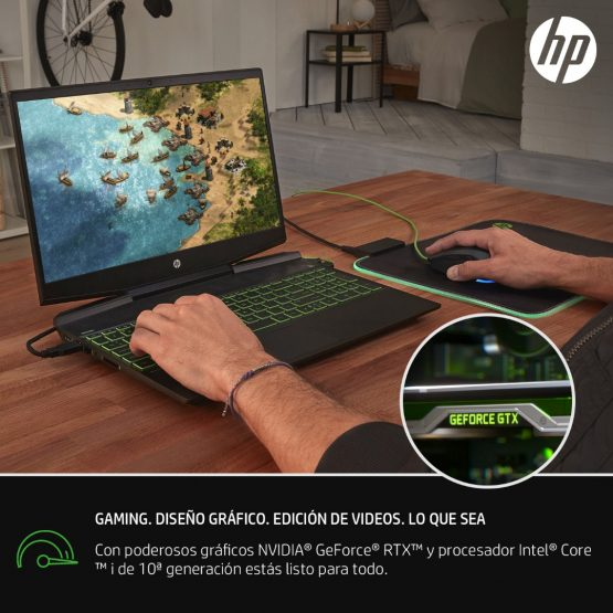 "Notebook HP Pavilion Gaming 15-dk1023la/ 15.6""/ i7/ 12Gb/ 512Gb 6"