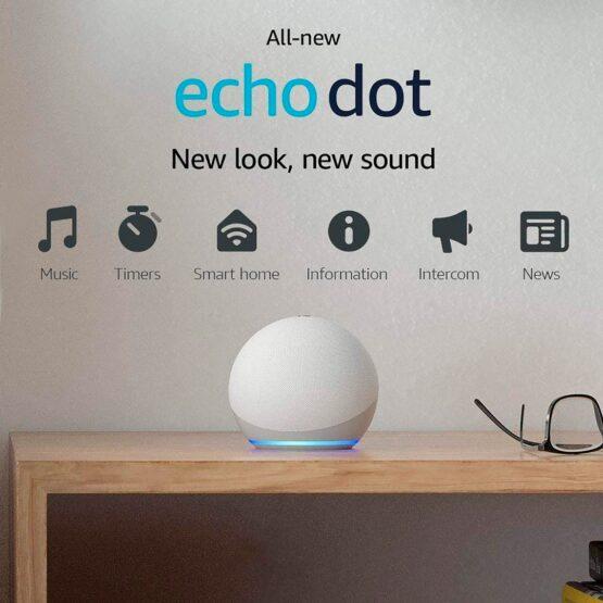 Parlante Amazon Echo Dot 4ta Gen Alexa Wifi Bluetooth 3