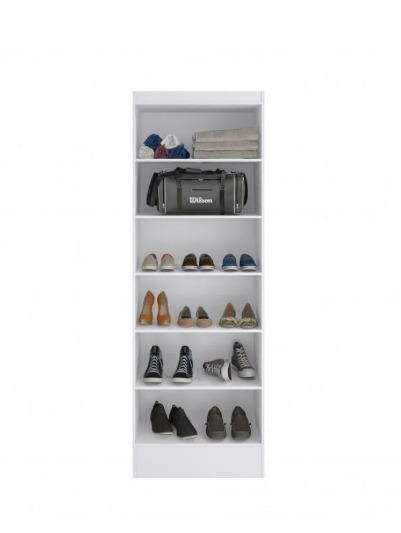 Ropero Unsi Furniture Utilitario Blanco 2