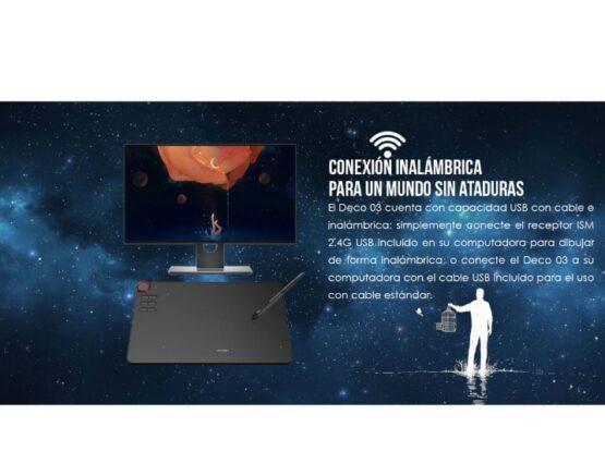Tableta Digitalizadora Xp-pen Inalambrica Deco 03 3