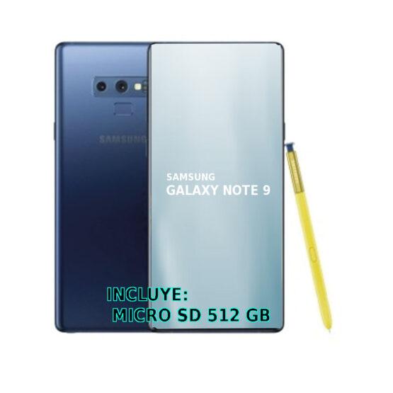Celular Samsung Galaxy Note 9 G9600Z-BL 1