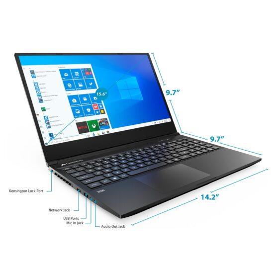"""Notebook Gaming Gateway GWTN156-2/ 15,6""""/ Ryzen 5/ 8Gb/ 256Gb/ REFAA 3"""