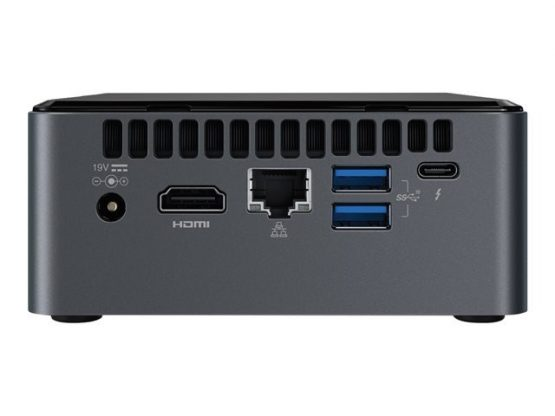 Mini Pc Intel Nuc / Core i3-8109U/ AC 9560 + BT v5 Euro-AC-Cord Slim KVR 8GB 2