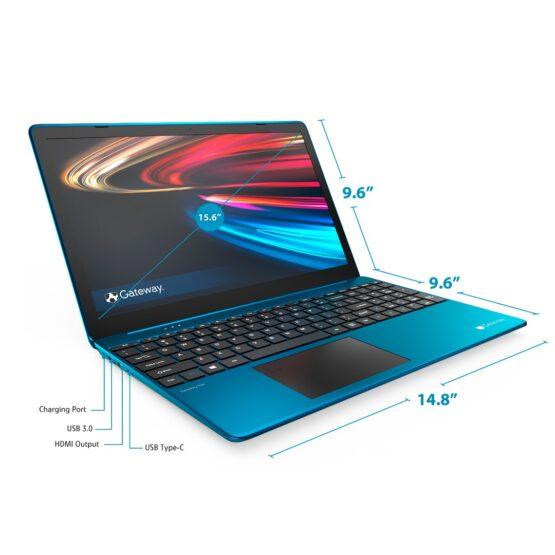 """Notebook Gateway 15,6""""/ Core I5/ 16Gb/256Gb / Win10 REFAA 8"""