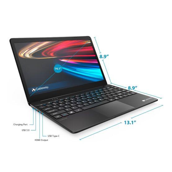 """Notebook Gateway Gwtn141-3/ 14,1""""/ Core I3/ 4Gb/ 128Gb/ Win10 REFAA 3"""
