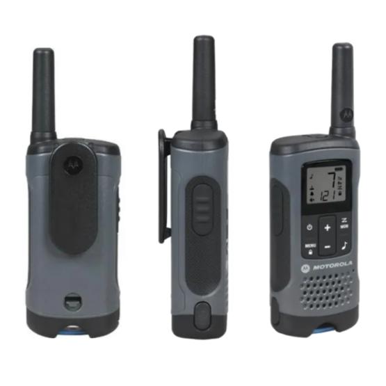 3 Radios Motorola T200 3 Vías 32km 22 Canales 2