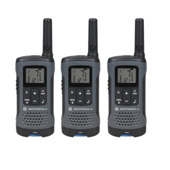 3 Radios Motorola T200 3 Vías 32km 22 Canales 1