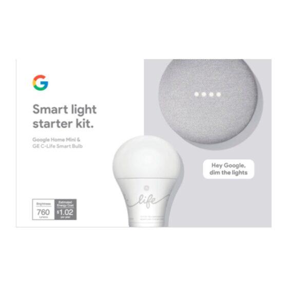 Kit Asistente Google Smart Light Starter 3