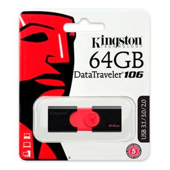 Pendrive Kingston DataTraveller 106 64gb 3