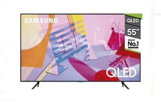 "Televisor Samsung QLED Smart TV 55"" UHD 4K 1"