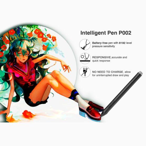 Tablet Digitalizadora Veikk Ambidiestro 10x6 5080lpi 3