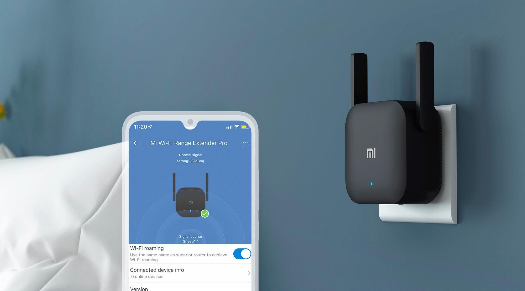 Extensor Xiaomi Mi Wi-Fi Range Extender Pro 5