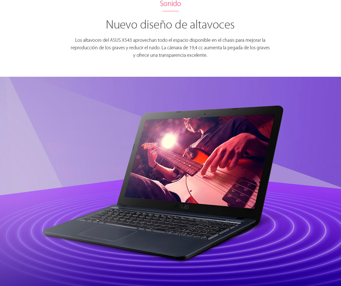 """Notebook Asus 15,6"""" / Core I3 / 4GB / 1TB / Endless 17"""