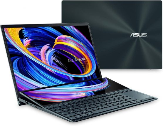 """Notebook Asus Zenbook Duo / 14''+12.7""""/ i7/ 16Gb/ 1Tb/ FHD Touch/ MX450 2GB 1"""